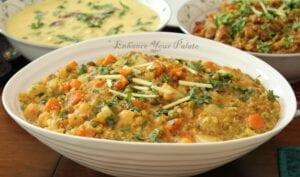 Vegetable Pearl Millet Recipe – Bajra Khichdi (One Pot Meal)