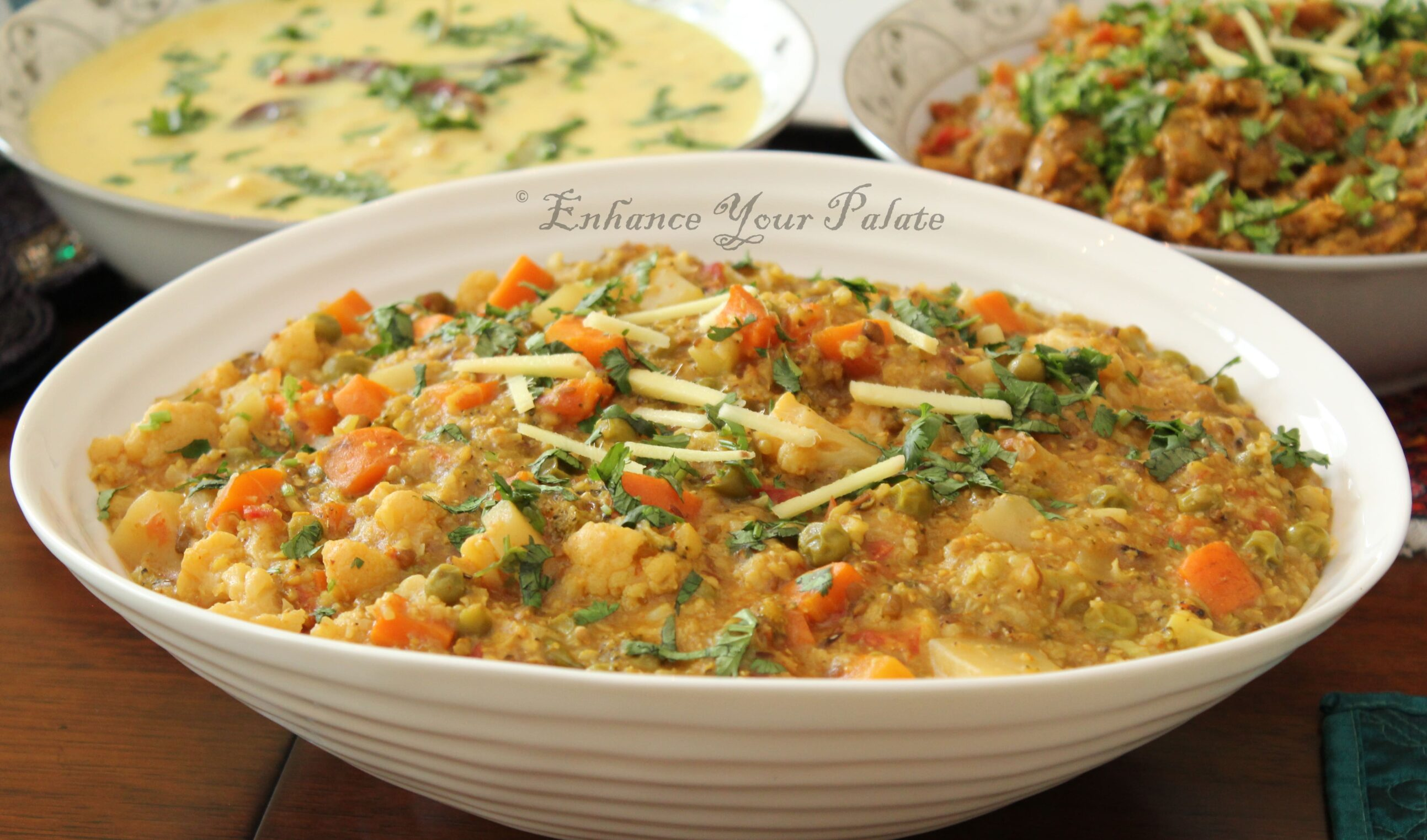 Vegetable Pearl Millet Recipe - Bajra Khichdi (One Pot Meal) Bajra (Pearl Millet) Khichdi makes a perfect healthy one pot meal. Pearl Millet (Bajra) has high protein content. Freekeh is the latest in super-foods. Both Instant Pot and Stove Top recipe included.