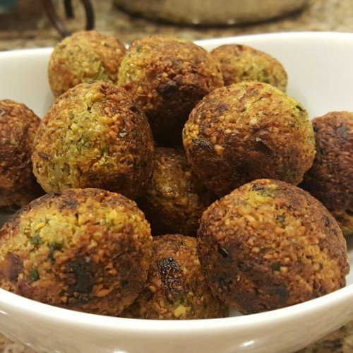 Falafel - Ebelskiver / Appe Pan Recipe from EYPFalafel - Ebelskiver / Appe Pan Recipe from EYP