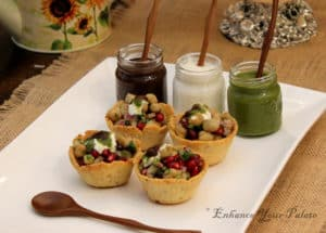 Baked Mathri Katori's/Cups – Healthy Option for Chaat Lovers