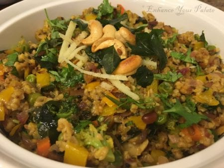 Mix-veg Savory Masala Steel Cut Oats - Enhance Your Palate