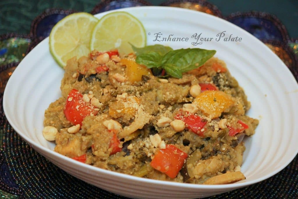 Thai Green Curry Quinoa