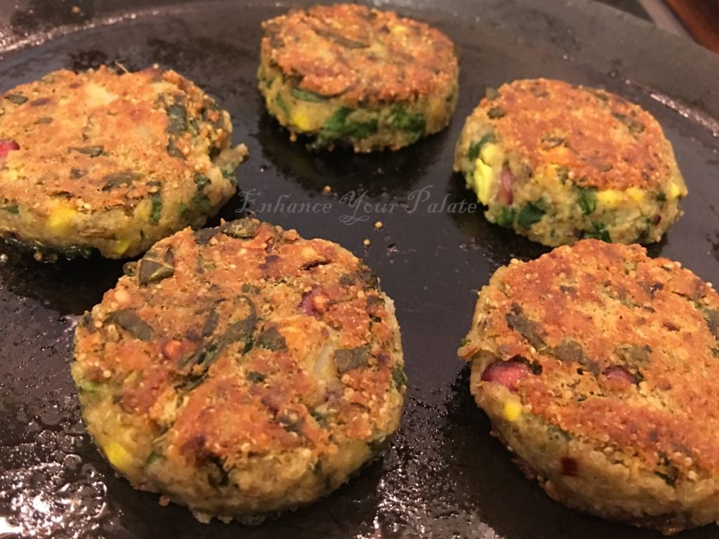 2016-8-21 Amaranth Lentil Patties Step 22