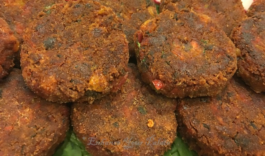 Veggie Bean Quinoa Cutlets - Enhance Your Palate
