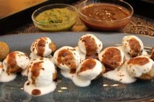 Split Green Gram Lentil Fritters (Mung Dal Vada / Raam Laddu)