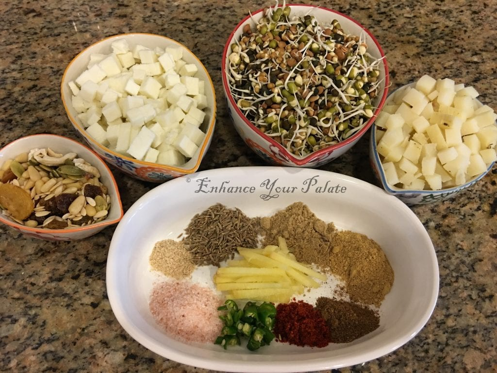 Sprouted Puff Pastry Ingredients