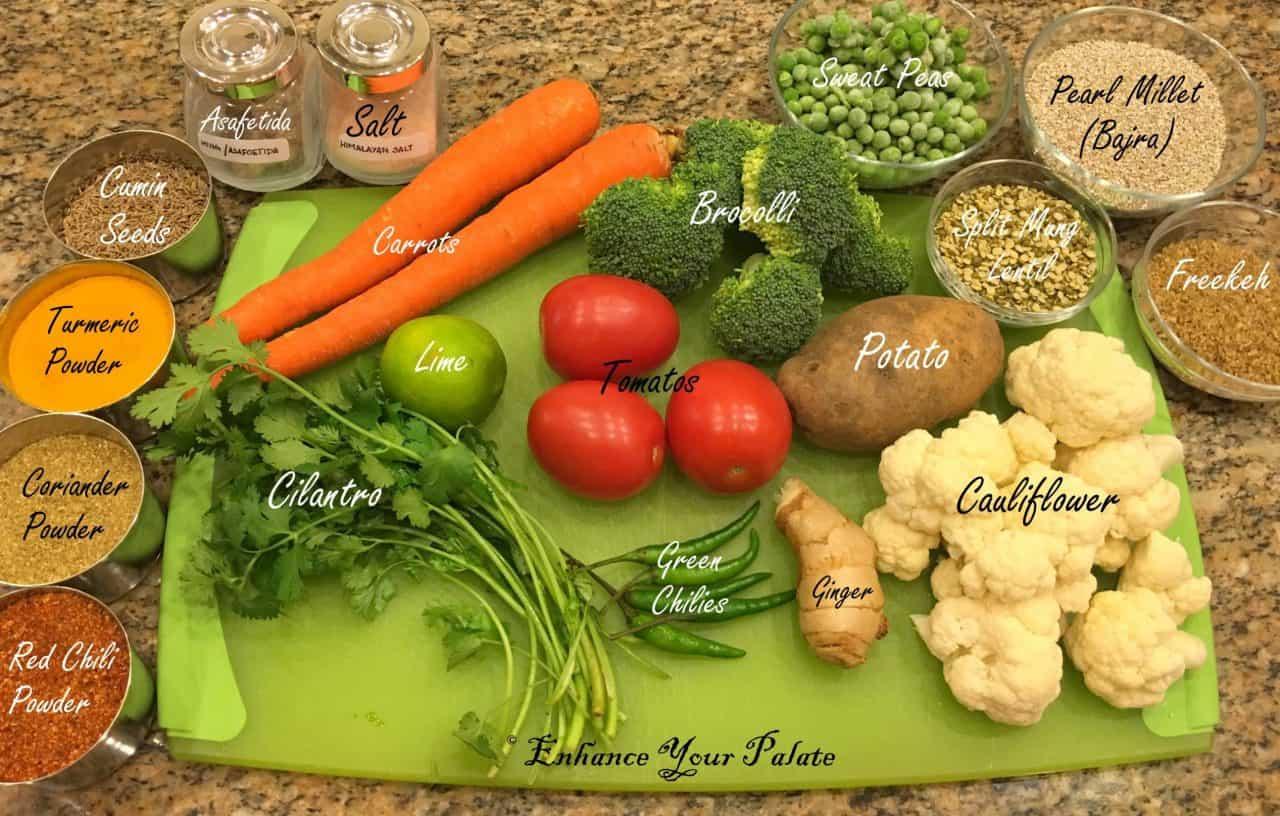 Bajra Kichdi Ingredients