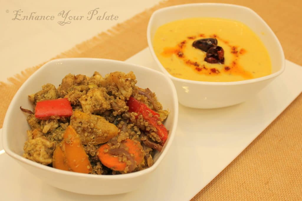Mint-Flavored Protein Packed Quinoa Pulao Enhance Your Palate Khadi