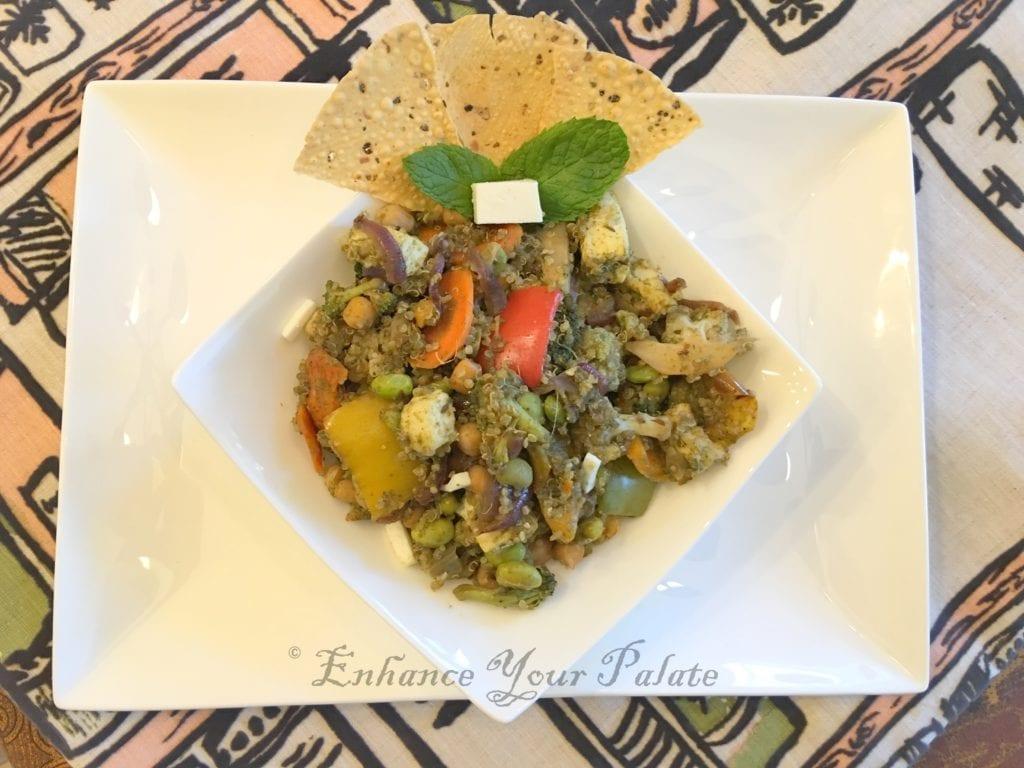 Mint Quinoa Pulao