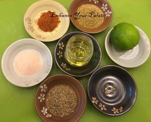 Spices used in quinoa pulao