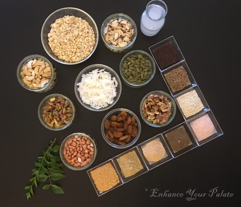 Savory Oats Nut Mix Namkeen
