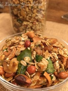 Over Roasted Savory Oats Nuts Mix Namkeen