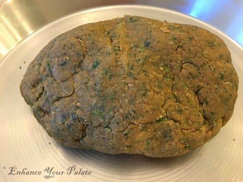 kneaded dough for Mathri