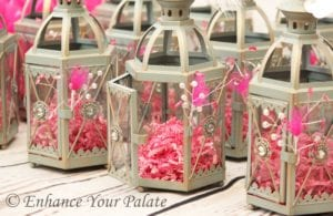 Moroccan Lamp Party Favors Enhance Your Palate Event