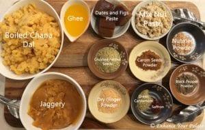 Puran Poli recipe ingredients