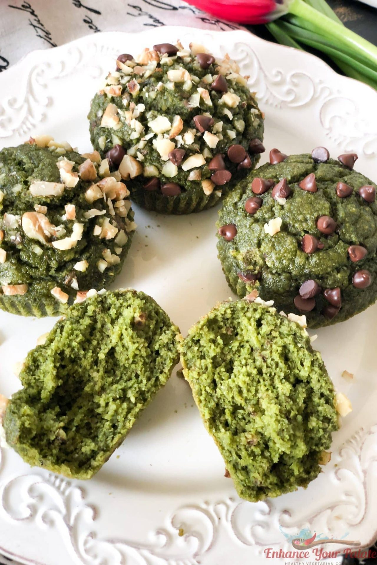 Gluten Free Eggless Vegan Muffins