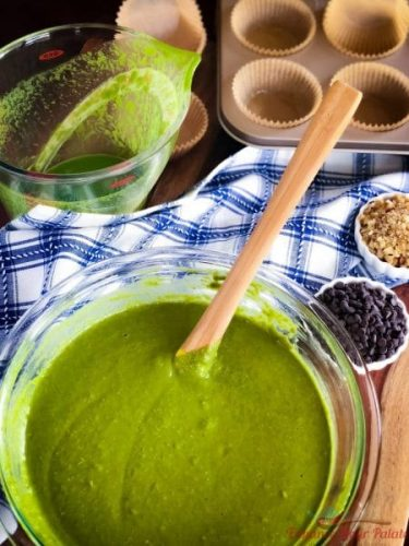 Muffin mix for making Spinach Muffins