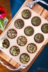 Gluten Free Vegan Eggless Muffins