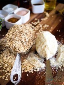 Oats Flour Muffins