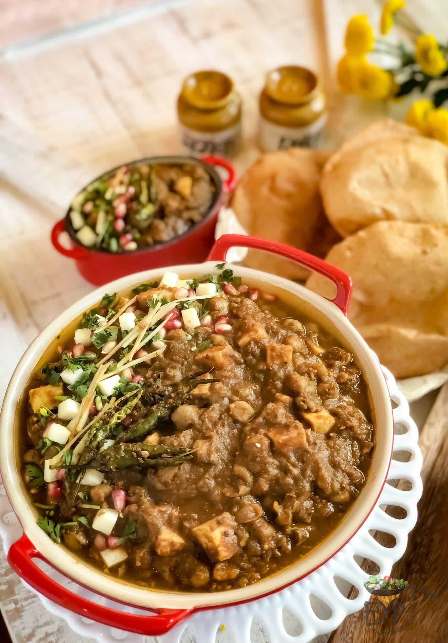 Amritsari Punjabi Chole without Onion Garlic - Enhance Your