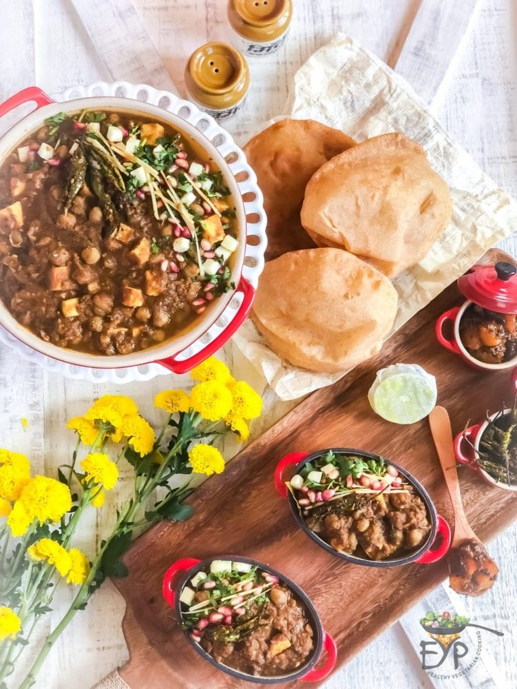 Amritsari Punjabi Chole Bhature Chickpea Recipe Enhance Your Palate