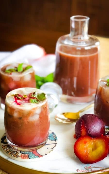 Roasted Plum Juice (Panna Drink)