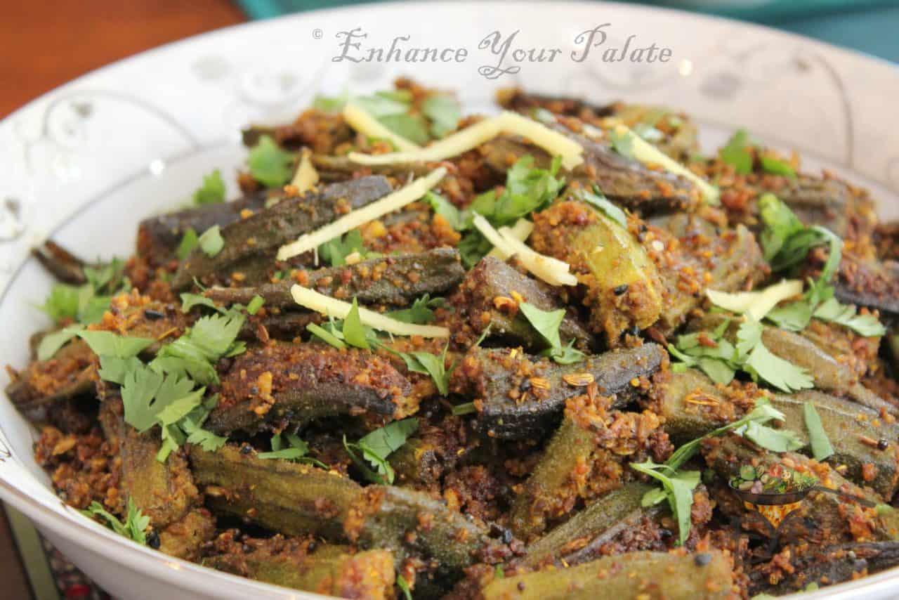 Bhindi Enhance Your Palate