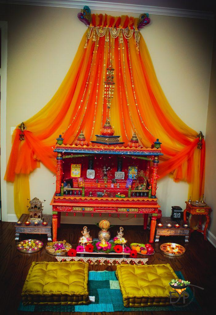 Ethnic Indian Festive Diwali Temple Decoration from Enhance Your Palate