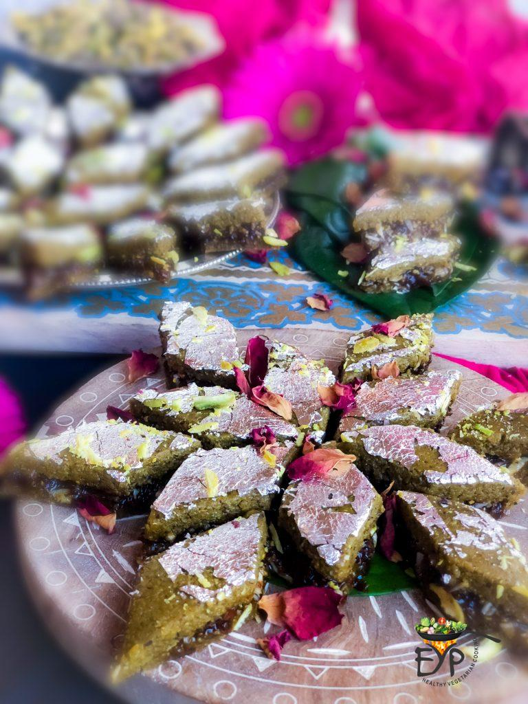 Best Pistachio-Gulkand-Barfi Enhance Your Palate