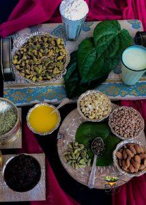 Ingredients for Best Pistachio-Gulkand-Barfi Enhance Your Palate