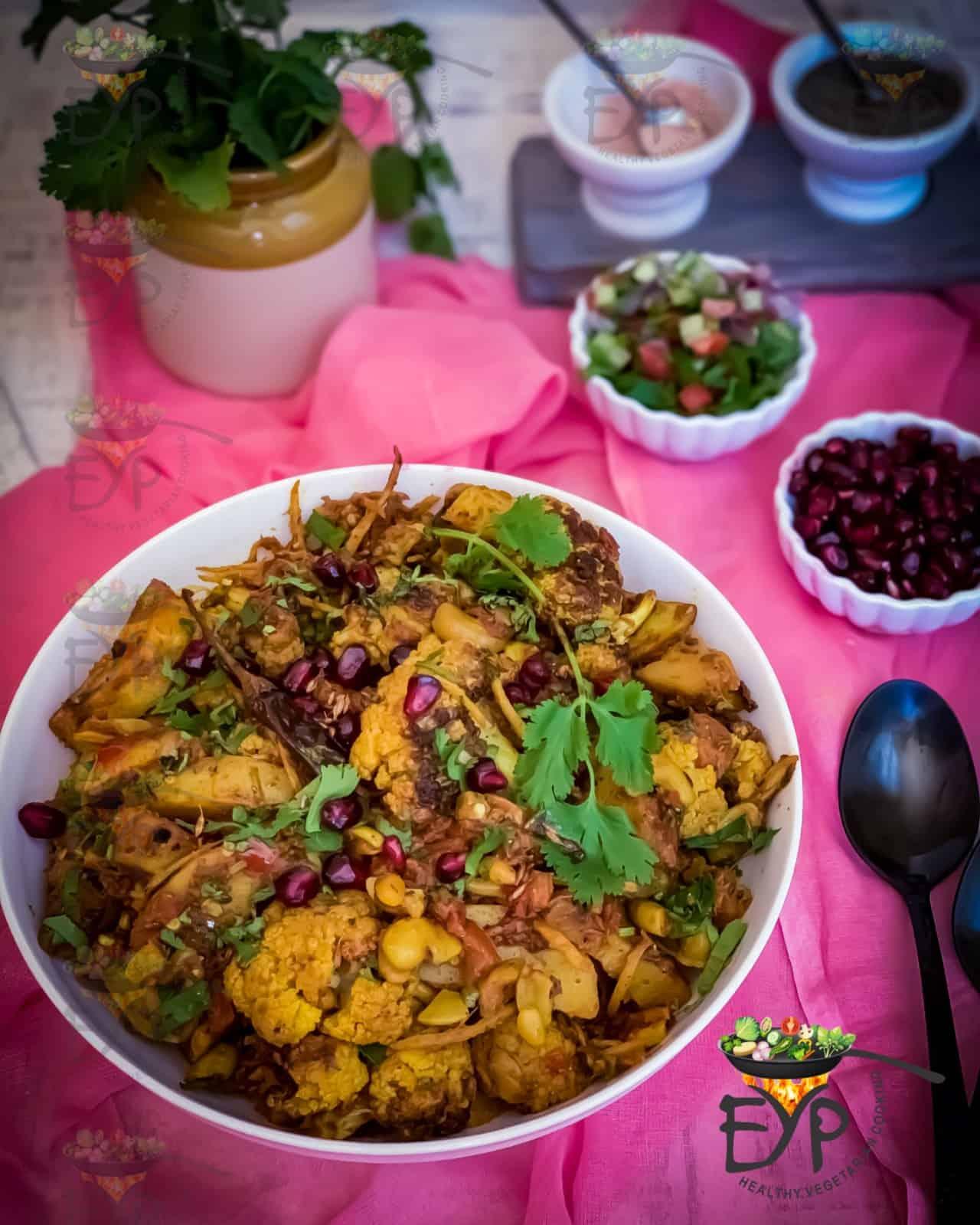 Aloo Gobi subzi - vegetable curry
