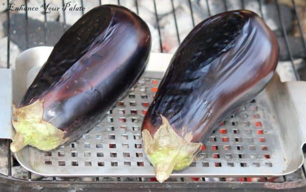 Baigan ka Bharta Chokha Roasted Eggplant - Enhance Your Palate