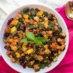 Bhindi Masala - Okra Bell Pepper Stir-Fry