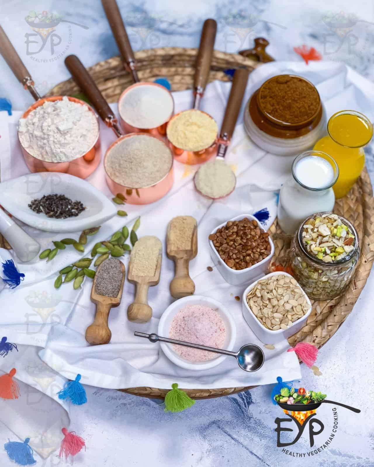 Churma Ladoo ingredients