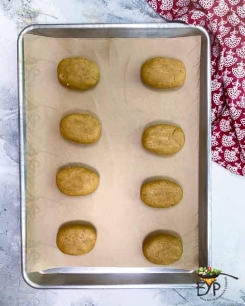 Bati ready to bake for churma