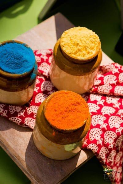 Holi Festival Colors