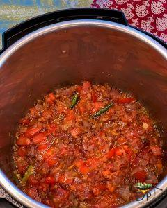 Dal Tadka tomato gravy