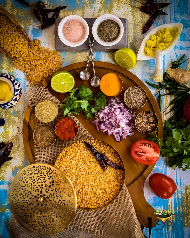 Dal Tadka Ingredients