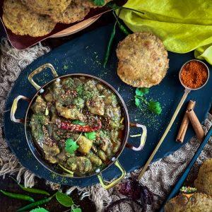 Dubki Wale Aloo - Spicy Potato Curry