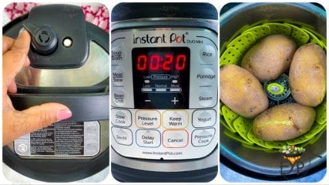 Boiling Potatoes in Instant Pot for - Spicy Potato Curry