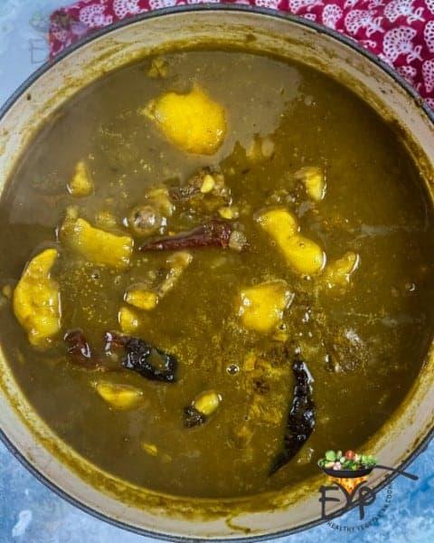 Dubki Wale Aloo: No Onion No Garlic Indian Spicy Potato Curry