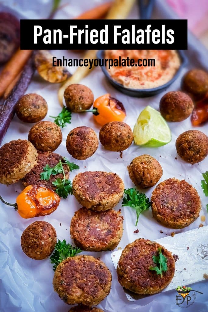 Pan-fried Falafel