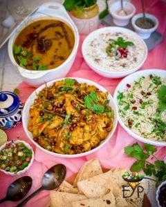 Family Dinner Idea - Dal Tadka & Aloo Gobi