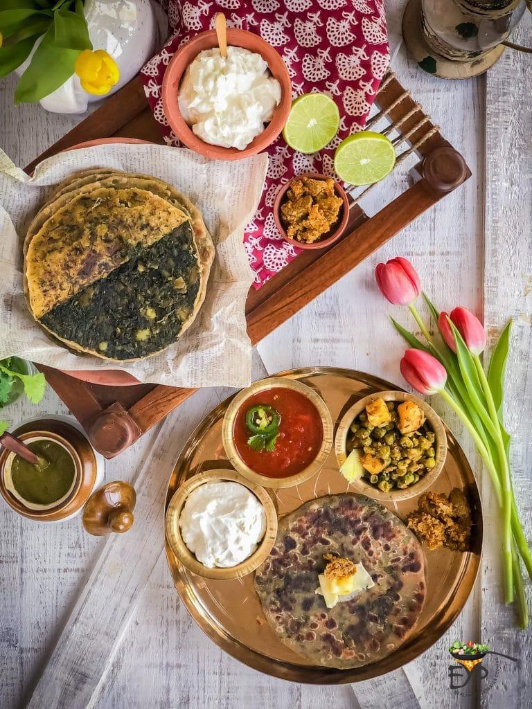 Bathua-Aloo Paratha