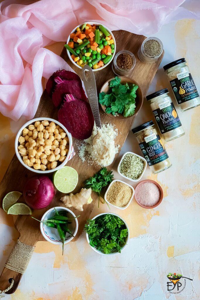 Falafel recipe ingredients