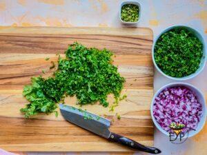 Chopped Grrens