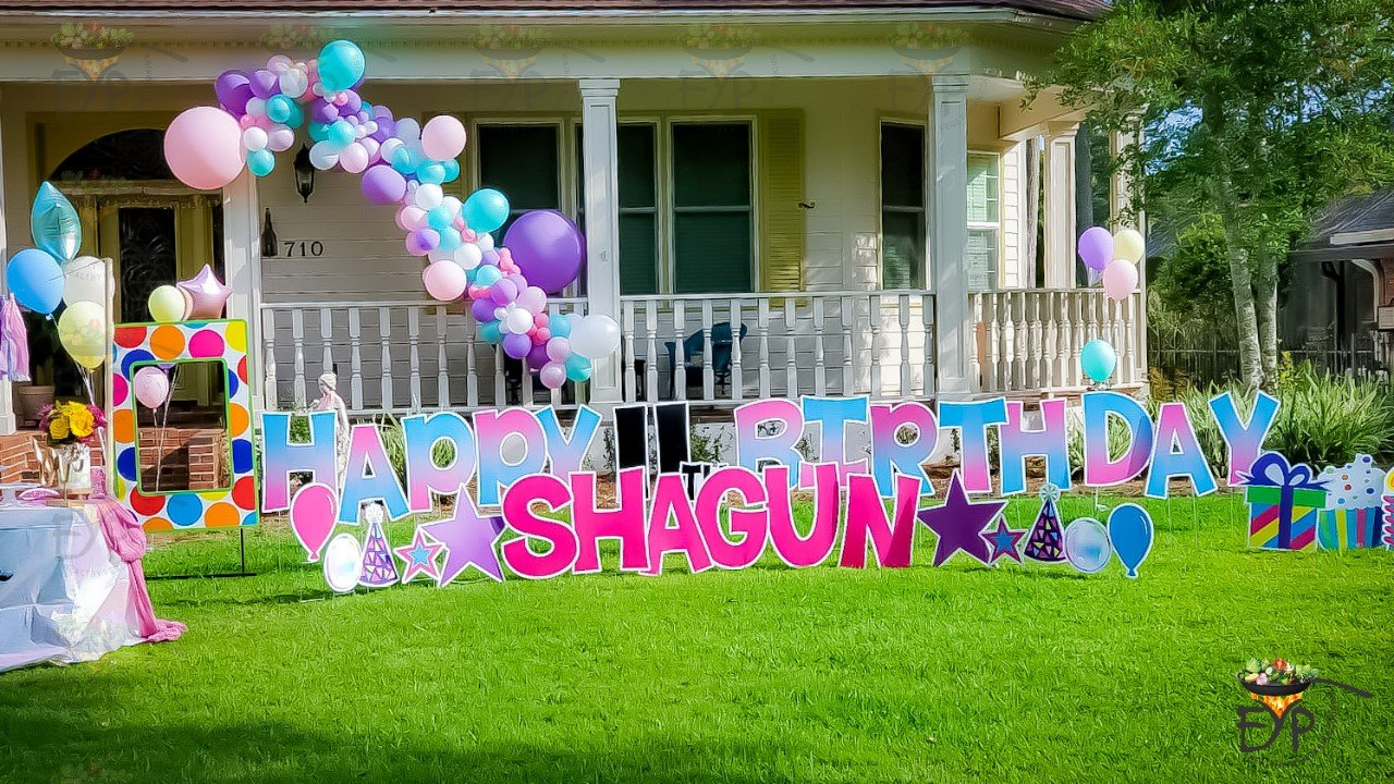 Outdoor Birthday Party Decoration Ideas Enhance Your Palate