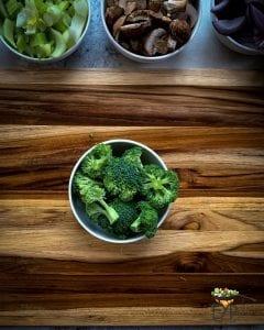 chopped brocolli