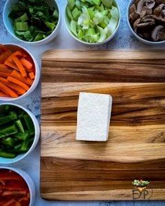 whole tofu piece