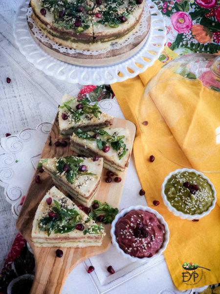 Idli Rava Sandwich Dhokla - Khatta Dhokla - Savory Steamed Rice Cake – Instant Pot Recipe